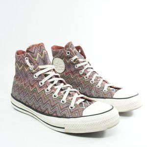 Converse x Missoni Hi Top Sneakers Size 10 Womens